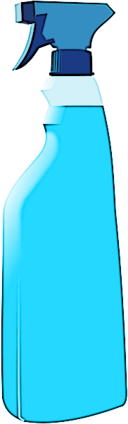 Cleaning bottles clip art - photo#32