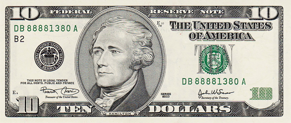 dollar bill US - /money/US_Currency/US_currency_large/ten_dollar_bill ...