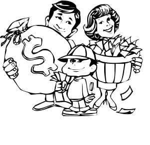 Vector Of A Cartoon Robber Unlocking A Piggy Bank Vault Outlined Coloring Page By Ron Leishman 24431 moreover Empty Wallet Black And White Cliparts likewise 50s And 60s Women 690532 in addition Stock Illustration Seamless Pattern Withsiberian Husky Puppies further Stock Photo Outlined Light Bulb Cartoon Character. on cartoon man with money bag