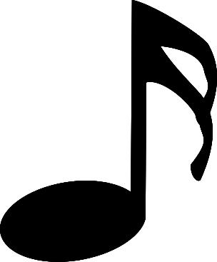 Sixteenth Note (stem Facing Up) Clip Art at Clker.com - vector ...