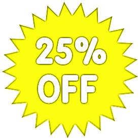 25 percent off light yellow   office  sale promo  percent light clip art free light clipart cartoon
