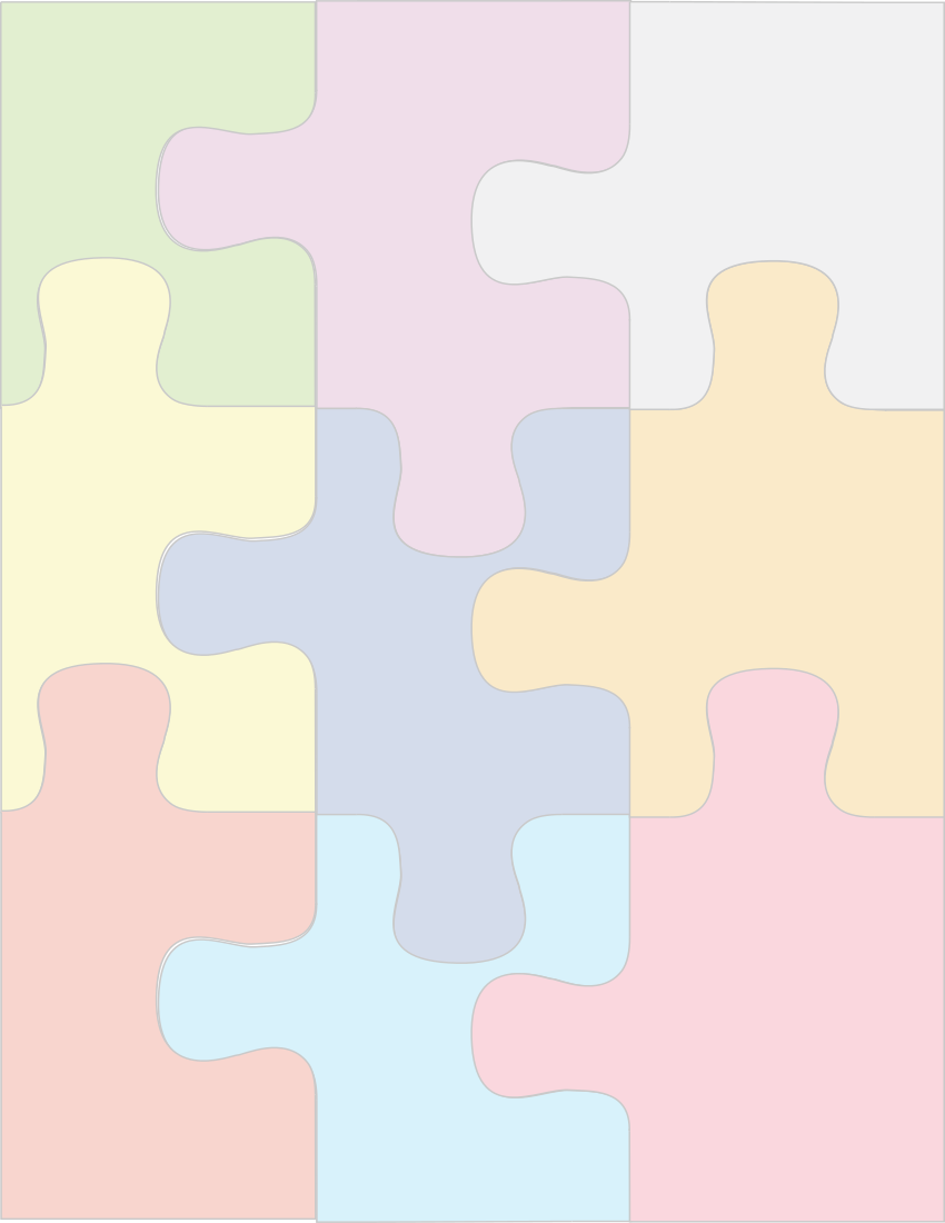 Puzzle Background Page Frames Background Pages Jigsaw