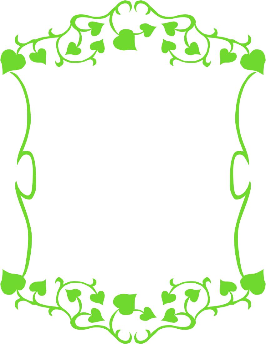 ivy frame pageframesfloralivyivyframepnghtml