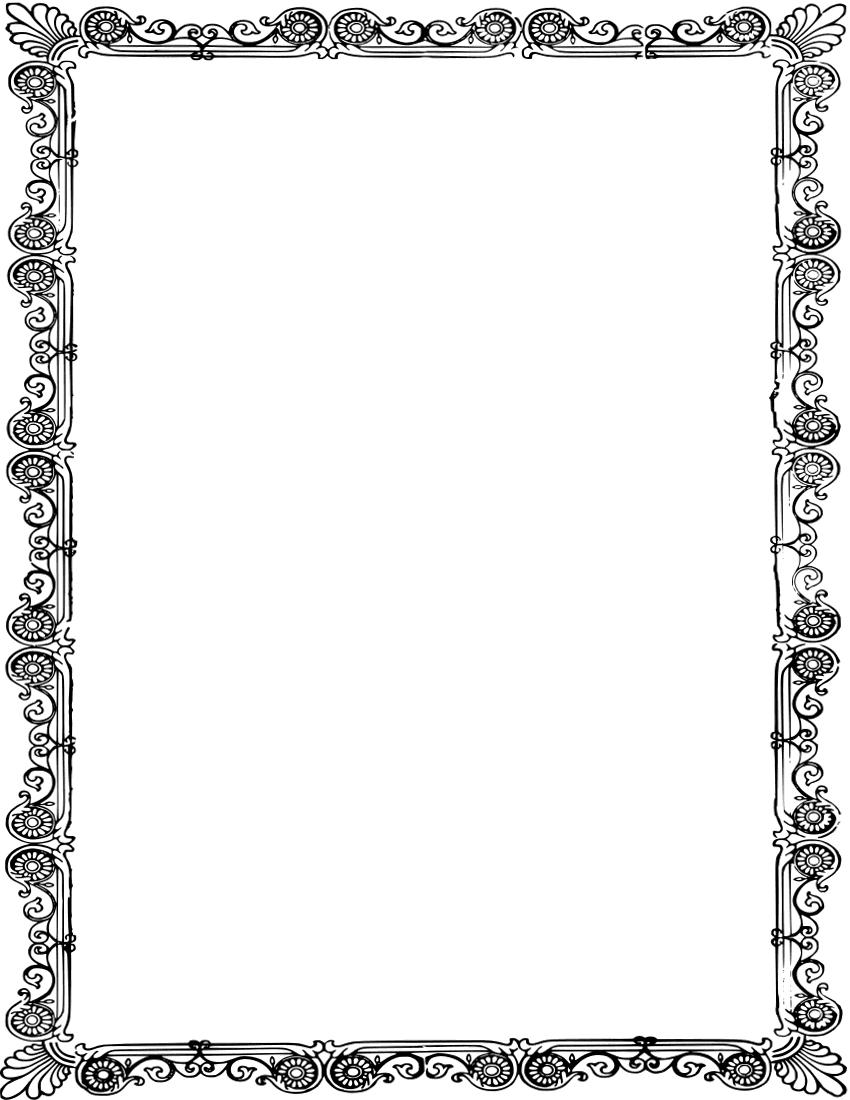 Frame Border Clip Art