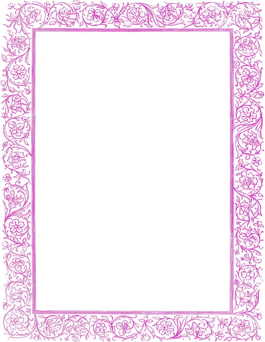 Purple Border Clip Art