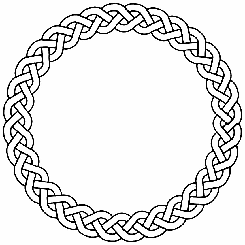 clipart rope border circle - photo #41