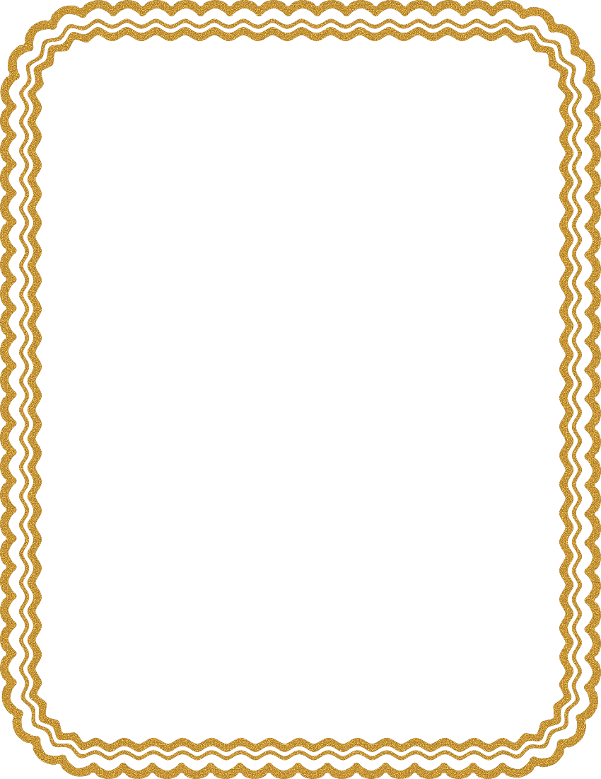 Gold Sand Border Page Frames Rounded Borders Gold Sand