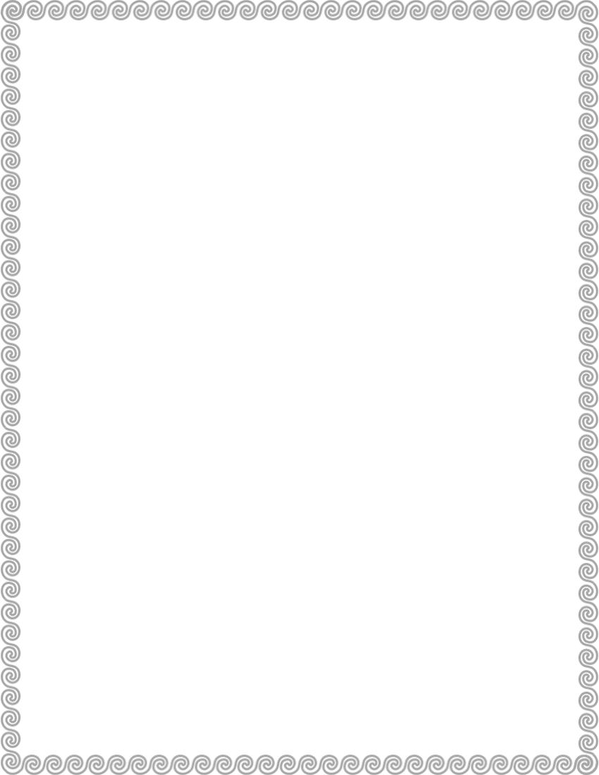 wave scroll border green   page frames  simple ornamental clipart border baby boy clipart borders decorations