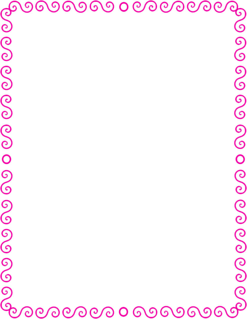 Displaying 16gt Images For Pink Border Line Clip Art
