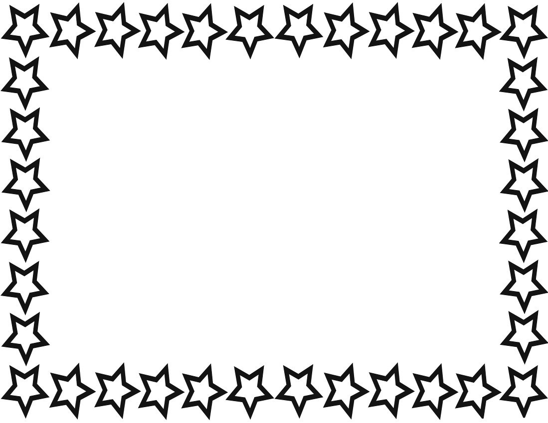 Star Border Page Images Frompo