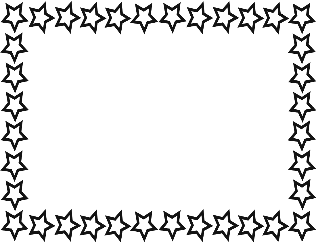 Blue ribbon banner clipart clipart panda free clipart images - Star Border Page Page Frames Star Border Star Border