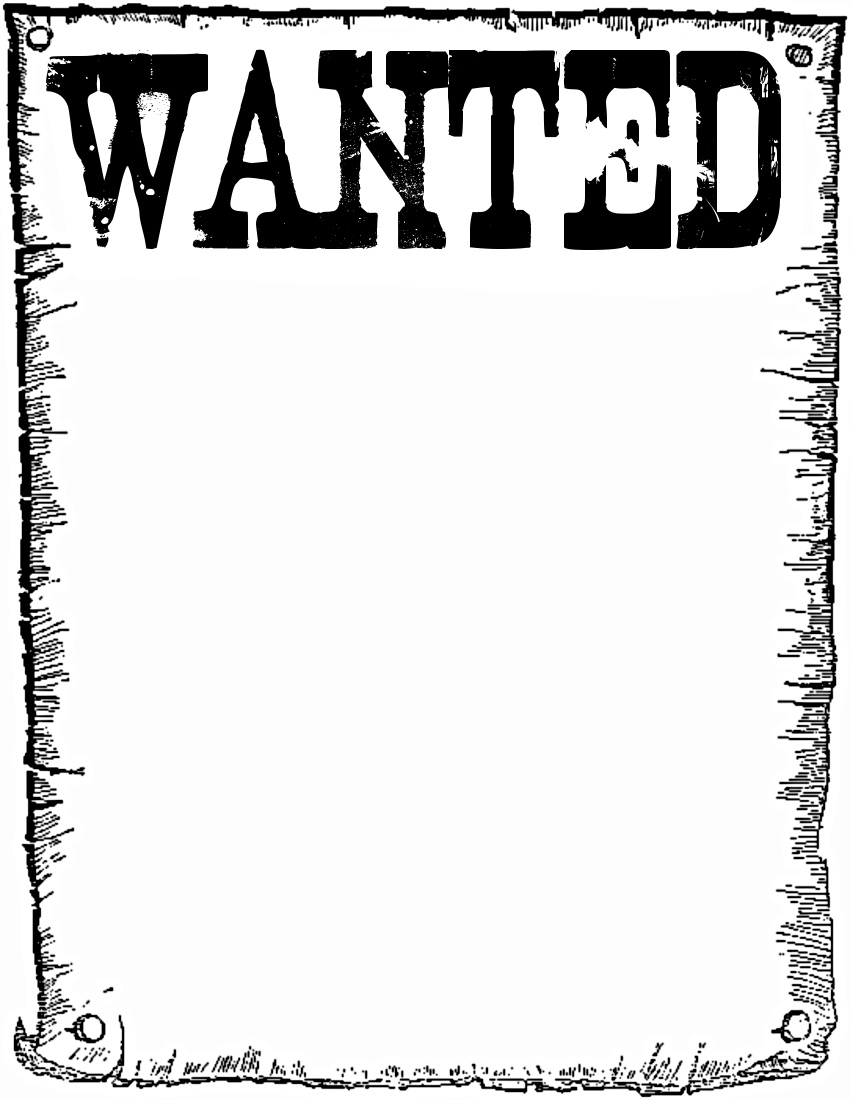 wanted - http://www.wpclipart.com/page_frames/wanted.png.html