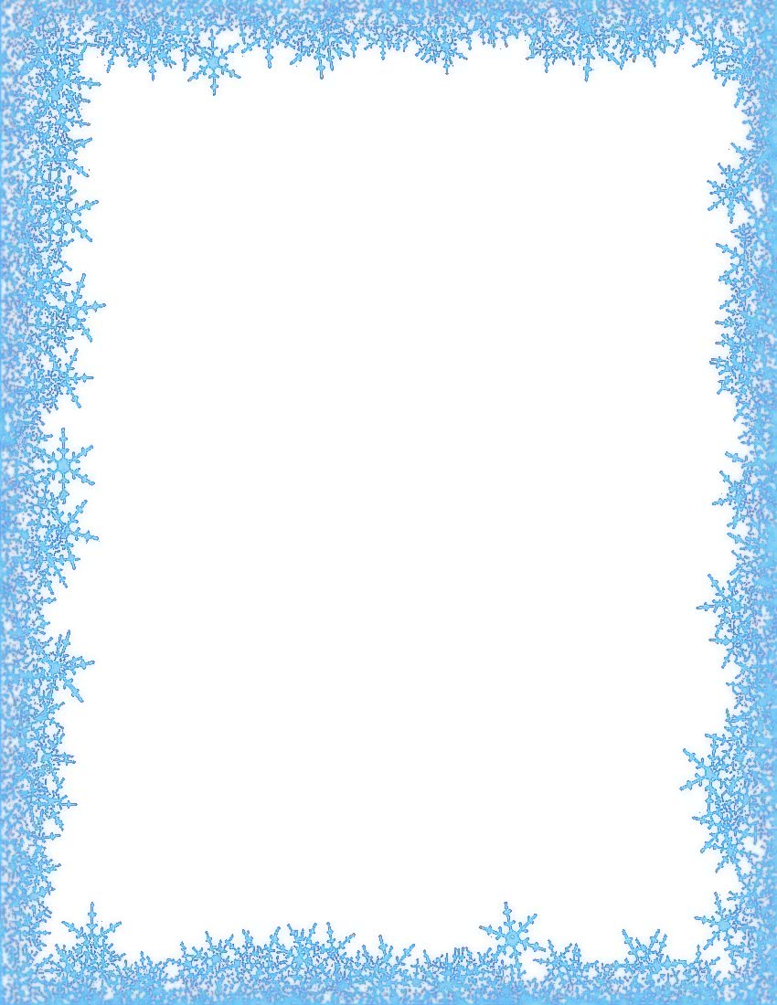 snowflakes border - /page_frames/weather/cold/snowflakes_border.jpg ...