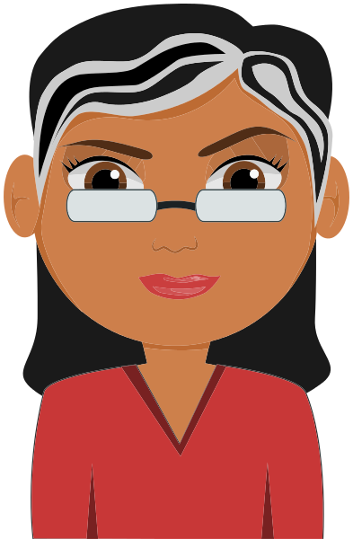 woman w glasses