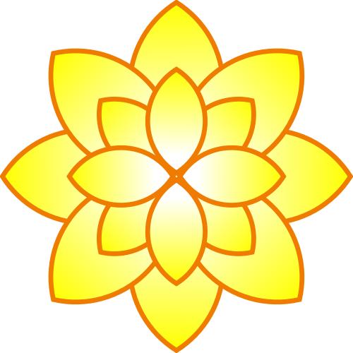 yellow flower - http://www.wpclipart.com/plants/flowers ...