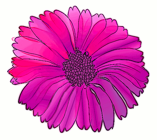 clipart flower pink. flower pink purple