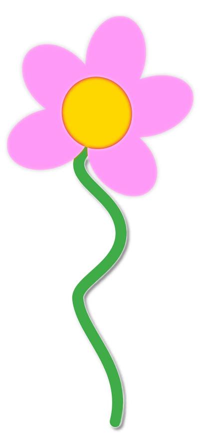 flower pink w stem - /plants/flowers/colors/pink_flower ...