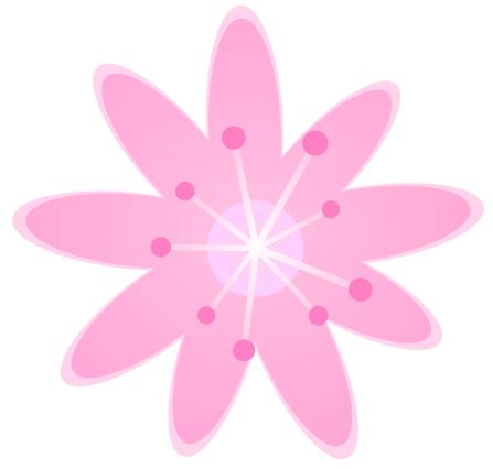flower clip art rose. Pink Rose Flower Clip Art