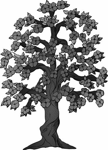 flowering tree clipart - photo #20