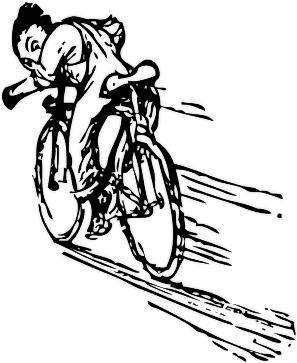riding a bike fast - Slow life? Nu prea...
