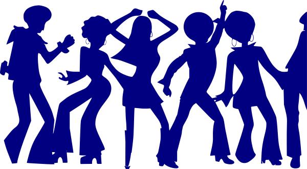 Dance disco disco dancers only a public domain image
