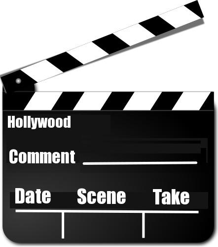 Kids Movie Director Clip Art
