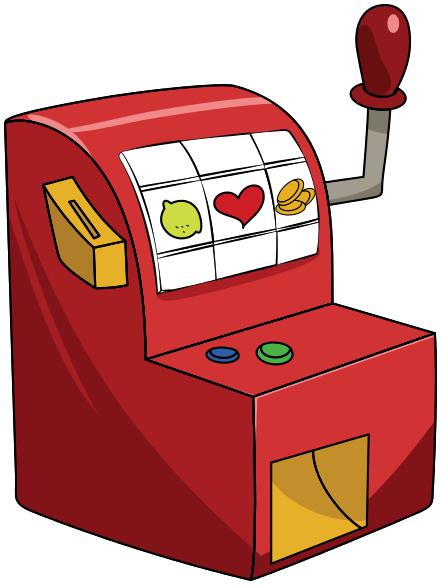 casino slot machine clipart