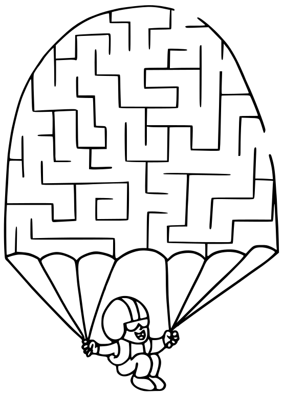 maze parachute   recreation  games  maze  maze parachute png parachute clip art words parachute clip art army