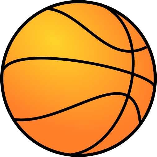 large basketball gradient color - /recreation/sports ...