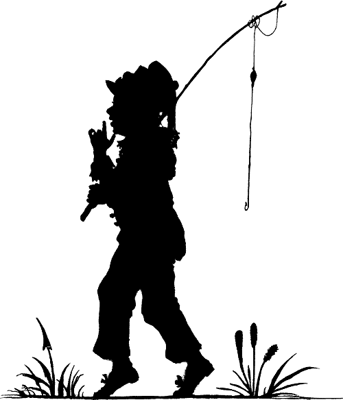 clip art fishing. gone fishing