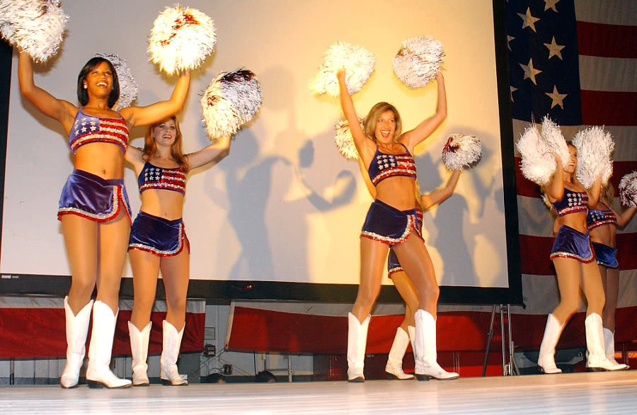 Redskin Cheerleaders