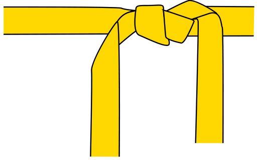 yellow belt clipart - photo #13
