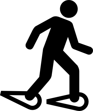 snowshoes   recreation  sports  winter  snowshoes  snowshoes sports clip art free sports clipart borders