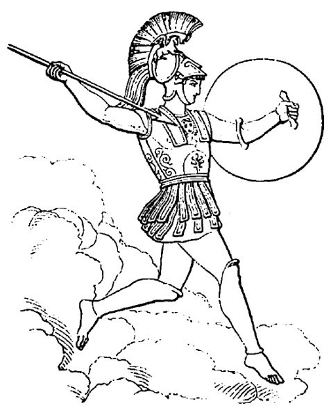 Greek God Ares Drawing Embed