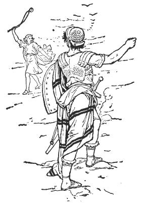 David And Goliath Religion Mythology Bible Bible 2