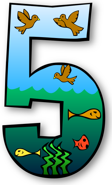 Creation Clip Art Number 5