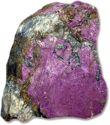 Purpurite Manganese Phosphate - /rocks_minerals/P/Purpurite__Manganese ...