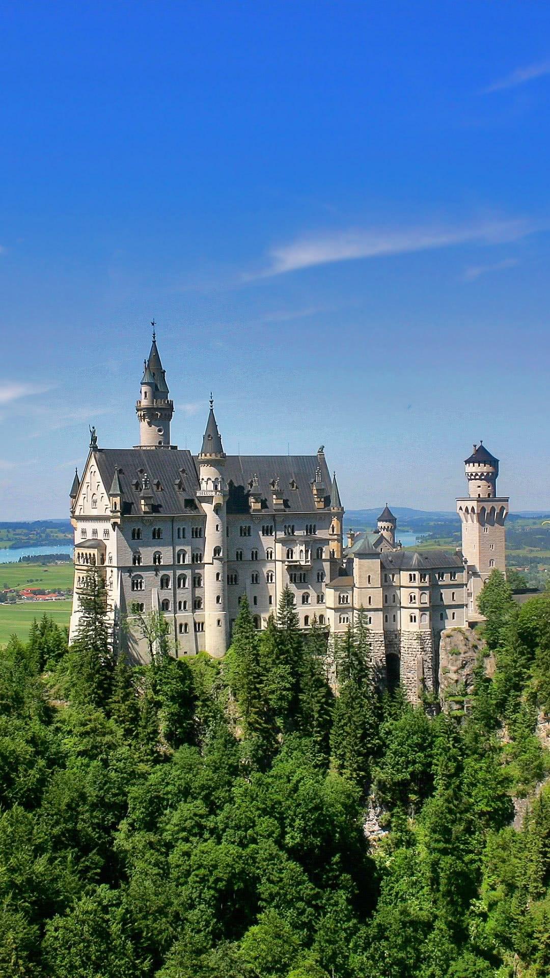 neuschwanstein castle scenicwallpaperphonewallpaper