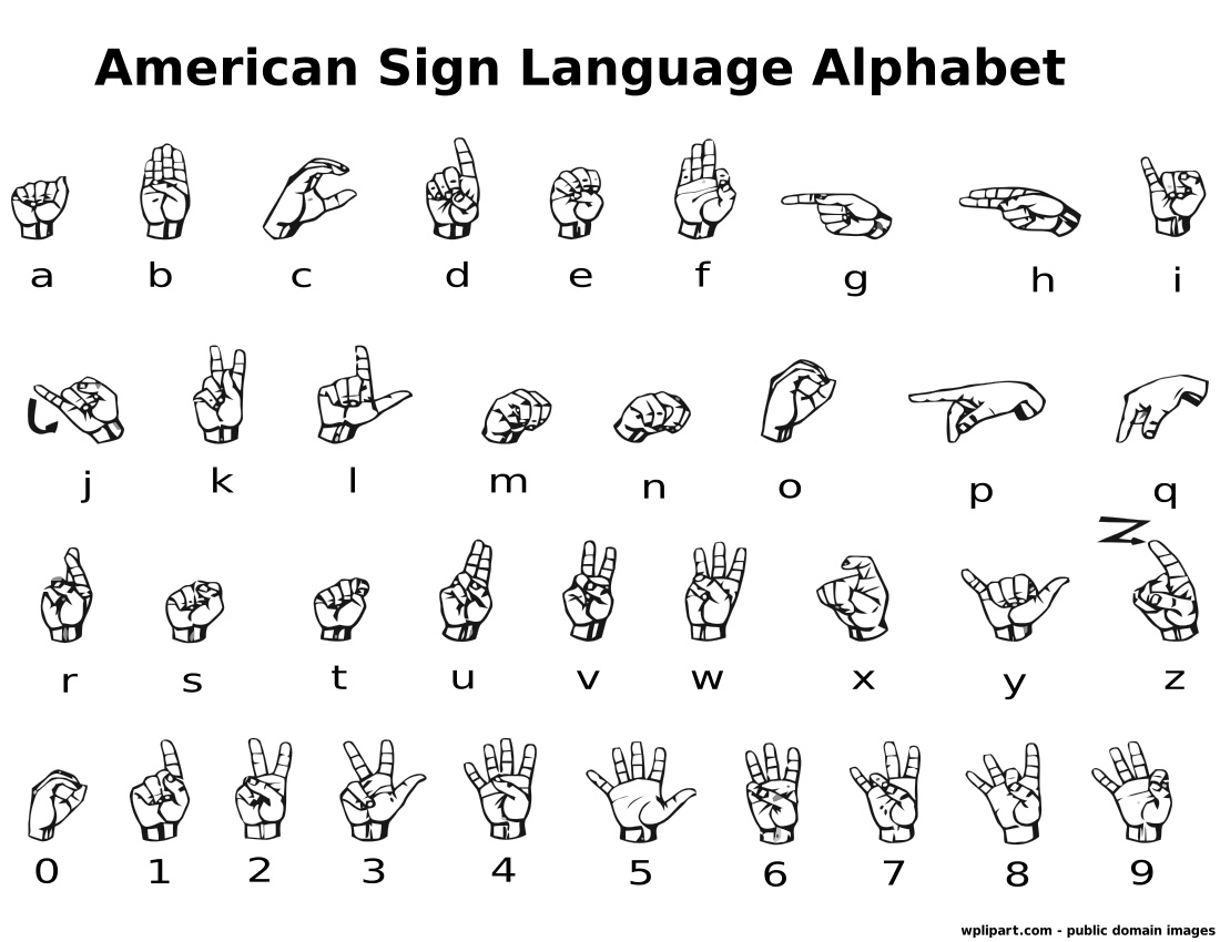 Coloring Pages Sign Language Alphabet : Pin asl alphabet printable topic articles on pinterest