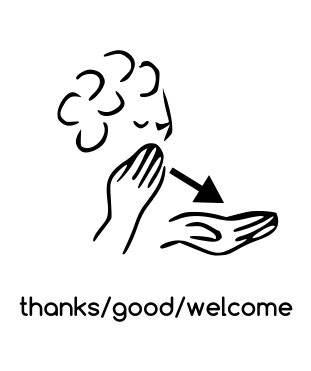 how to say thank you god in sign language