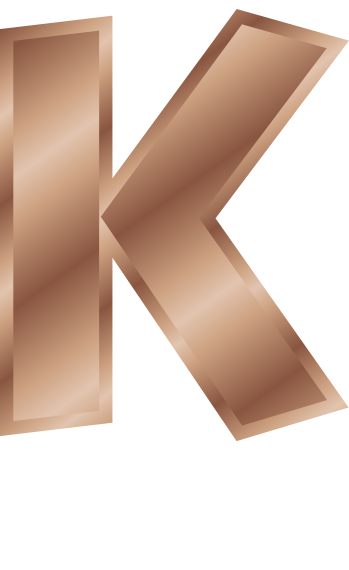 bronze letter capitol k   signs symbol  alphabets numbers clip art letter b clip art letter h