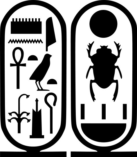 cartouche Tut - /signs_symbol/alphabets_numbers/cartouche_Tut.png.html