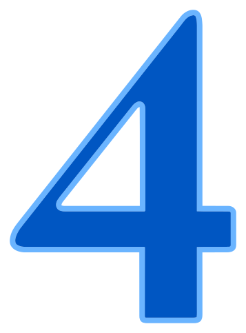number 4 - /signs_symbol/alphabets_numbers/color_numbers/number_4.png ...