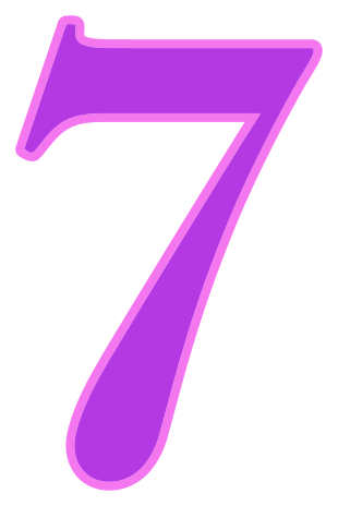 Number 7 png number 7 purple signs symbol alphabets numbers