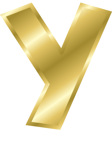 y letter in gold - photo #44