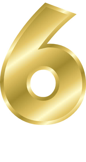 gold number 6 - /signs_symbol/alphabets_numbers/gold/gold_number_6.png ...