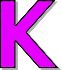 K Letter Images In Pink capitol K purple - /signs_symbol/alphabets_numbers/outlined_alphabet ...