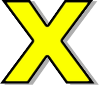 Letter X Lowercase Pictures to pin on Pinterest