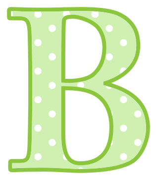 letter b   signs symbol  alphabets numbers  polka dot  upper numbers clipart 1 - 100 numbers clip art color