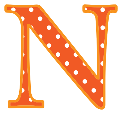 Letter n signs symbol alphabets numbers polka dot upper - N letter images ...